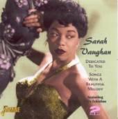 VAUGHAN SARAH  - 2xCD DEDICATED TO YOU