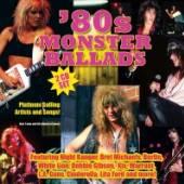 VARIOUS  - 2xCD 80'S MONSTER BALLADS