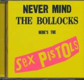 SEX PISTOLS  - CD NEVER MIND THE BOLLOCKS
