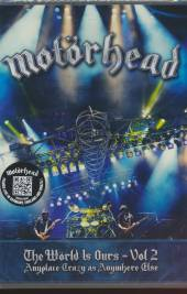 MOTORHEAD  - DVD THE WORLD IS OURS - VOL. 2