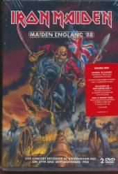 IRON MAIDEN  - 2xDVD IRON MAIDEN - MAIDEN ENGLAND '88