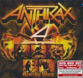 ANTHRAX  - CD WORSHIP MUSIC - SPECIAL EDITIO