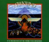HAWKWIND  - CD+DVD IT IS THE BUS..
