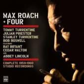ROACH MAX & FOUR  - CD COMPLETE 1959-1960 STUDIO