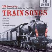 VARIOUS  - 10xCD TRAIN SONGS - 200 GREAT..