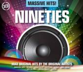 VARIOUS  - CD MASSIVE HITS! - NINETIES