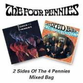 FOUR PENNIES  - CD TWO SIDES OF/MIXED BAG