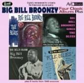 BROONZY BIG BILL  - 2xCD FOUR CLASSIC AL..