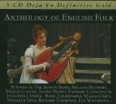 VARIOUS  - 5xCD ANTHOLOGY OF ENGLISH FOLK