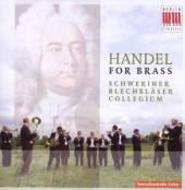 HANDEL GEORG FRIEDRICH  - CD HANDEL FOR BRASS