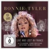 TYLER BONNIE  - CD LIVE & LOST IN FRANCE. DVD+CD