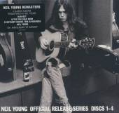YOUNG NEIL  - 4xCD OFFICIAL RELEASE SERIES DISCS 1-4