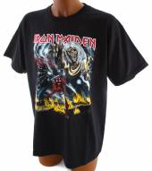 IRON MAIDEN =T-SHIRT=  - TR NUMBER OF THE BEAST -L-..