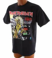 IRON MAIDEN =T-SHIRT=  - TR KILLERS COVER -M- BLACK