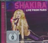 SHAKIRA  - 2xCD LIVE FROM PARIS (DELUXE EDITION)