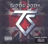 TWISTED SISTER  - CD LIVE AT THE ASTORIA CD/DVD