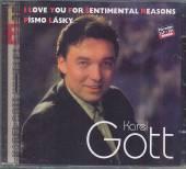 GOTT KAREL  - CD KOMPLET 34 / 35 I LOVE YOU FOR SENTIM