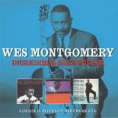 MONTGOMERY WES  - 3xCD INCREDIBLE JAZZ GUITAR