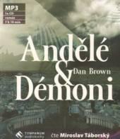 TABORSKY MIROSLAV  - CD BROWN: ANDELE A DEMONI (MP3-CD)