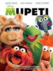 FILM  - DVD Mupeti SK/CZ dabing - loutkový DVD