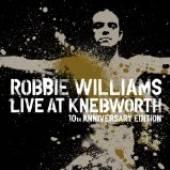 WILLIAMS ROBBIE  - DVD LIVE AT KNEBWORTH/BOX DELU