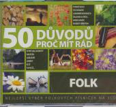 VARIOUS  - 3xCD FOLK - 50 DUVODU PROC MIT RAD FOLK
