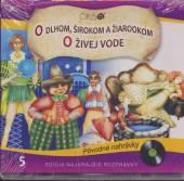 ROZPRAVKA  - CD O DLHOM, SIROKOM ..