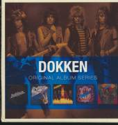 DOKKEN  - 5xCD ORIGINAL ALBUM SERIES