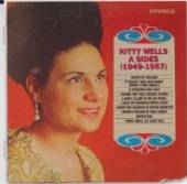 WELLS KITTY  - CD A-SIDES (1949-1957)