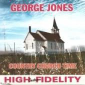 JONES GEORGE  - CD COUNTRY CHURCH TIME