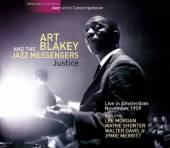 BLAKEY ART & JAZZ MESSEN  - CD JUSTICE -LIVE IN..
