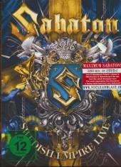 SABATON  - 2xDVD SWEDISH EMPIRE LIVE