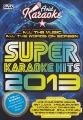 KARAOKE  - DVD SUPER KARAOKE HITS 2013