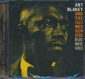 ART BLAKEY & THE JAZZ MESSENGE  - CD MOANIN