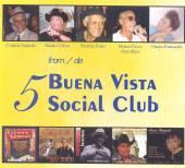 VARIOUS  - 5xCD 5 FROM BUENA VISTA..