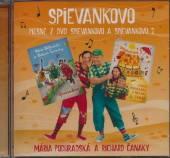 PODHRADSKA & CANAKY  - CD PIESNE Z DVD SPIEVANKOVO 1 A 2