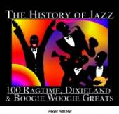 VARIOUS  - 5xCD HISTORY OF JAZZ-RAGTIME
