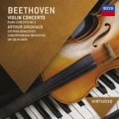 BEETHOVEN LUDWIG VAN  - CD VIOLIN CONCERTO/PIANO CON