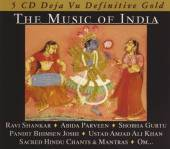 VARIOUS  - 5xCD MUSIC OF INDIA/GOLD