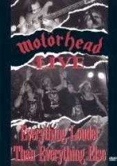 MOTORHEAD  - DVD LIVE: EVERYTHING LOUDER T