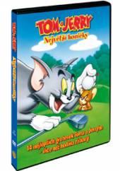 FILM  - DVD TOM A JERRY: NEJVETSI HONICKY