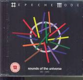 DEPECHE MODE  - 2xCD+DVD SOUNDS OF THE UNIVERSE