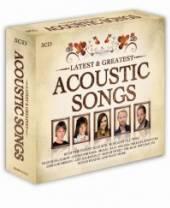 VARIOUS  - CD ACOUSTIC SONGS