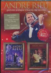 RIEU ANDRE  - 2xDVD CHRISTMAS AROUND THE WORLD