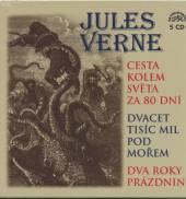 VERNE JULES  - 5xCD CESTA KOLEM SVE..