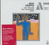 DON CHERRY  - CD+DVD MU PT. 1 & 2/ORIENT