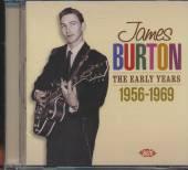 JAMES BURTON  - CD THE EARLY YEARS 1957-1969