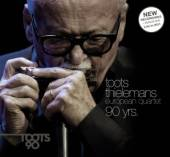 THIELEMANS TOOTS -EUROPE  - 2xCD+DVD 90 YEARS -CD+DVD-