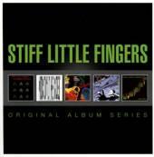 STIFF LITTLE FINGERS  - 5xCD ORIGINAL ALBUM SERIES