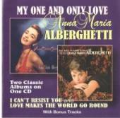 ALBERGHETTI ANNA MARIA  - CD MY ONE AND ONLY